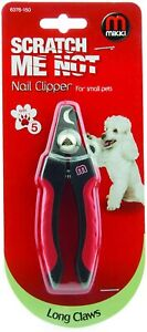 MIKKI NAIL CLIPPER FOR SMALL PETS LONG CLAWS SCRATCH ME NOT