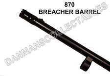 REMINGTON 870 (TACTICAL BREECHER SUPER BARREL), CHROME LINED, THREADED (NEW)!