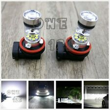 Super Bright H8 H9 H11 H16 6000K White 55W CREE LED Fog Light Conversion Kit