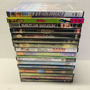 Lot Of 18 Dvds  Kid-teen Style Movies