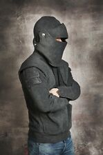 Lancelot Armored Knight Charcoal Colour Hoodie from Etsy RRP £270!!! Size M / L