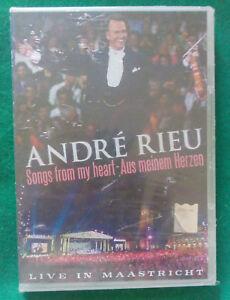 DVD Film ANDRE RIEU Songs From My Heart-Aus Meinen Herzen SEALED! no cd vhs(H1)