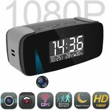 Alarm Clock Camera with cloud recording Wi-Fi Live Streaming