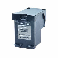 1PK Black Ink Compatible for HP 60XL DeskJet D1660 D1663 D2530