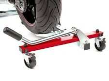 AceBikes U-Turn Motorcycle Mover adjustable without tools.