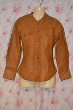 Women's Casual Leather Biker Popper Coats & Jackets