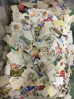 1 kilo  Germany off paper incl large and small Bundespost, Berlin & DDR stamps