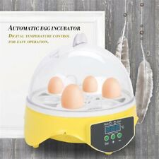7 Egg Incubator Automatic Turning Temperature Control Digital Chicken Hatcher
