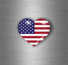 Sticker adesivi adesivo moto auto jdm bomb tuning bandiera cuore usa americana