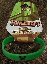 Minecraft Creeper Rubber Bracelet Size Medium
