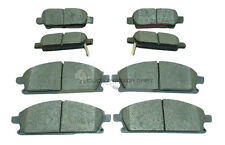 FOR NISSAN X-TRAIL 2001-2006 FRONT AND REAR MINTEX BRAKE DISC PADS NEW FULL SET