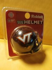 NCAA  Virginia Tech Hokies Riddell Revolution Pocket Pro Mini Football Helmet