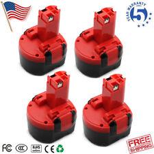 4x 9.6V Battery for Bosch PSR 960 2 607335272 BAT048 BAT049 BAT100 BPT1041 NEW
