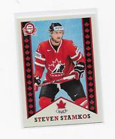 STEVEN STAMKOS RETRO 2017-18 UD CANADIAN TIRE TEAM CANADA #R-8 OPC INSERT