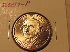 2007-P $1 PRESIDENTIAL UNCIRCULATED COIN SET-1ST FOUR PRESIDENTS