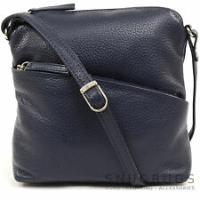 Womens / Ladies Luxury Soft Leather Handbag / Cross Body Bag