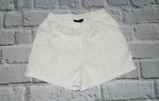 fred perry beach shorts white M medium  swim green label VINTAGE wreath