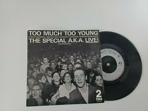 UK EP The Special A.K.A. - Too Much Too Young 1980 Chrysalis Records CHS TT7