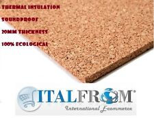 cork insulation board tile 100x50x6cm underfloor thermal heating