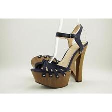 Zapatos de tacón de mujer plataformas Jessica de lona