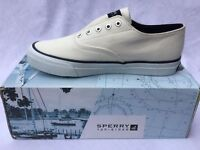 Sperry Top Sider Women's Cameron Navy LL Slip On Shoes 2.5
