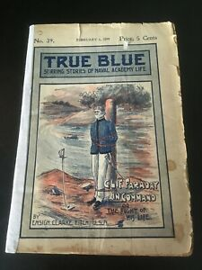TRUE BLUE 1899 Clif Faraday In Command by Upton Sinclair