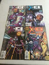 Marvel Comics X-51 THE MACHINE MAN #1-12 SET 1999 First Prints Higgens, Bolters