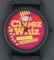 USED Kraft Cheese Cheez Whiz Advertising Character Watch