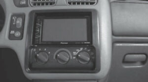 Double Din Car Radio Dash Kit for 1998-01 Chevrolet Blazer S-10 GMC Jimmy Sonoma