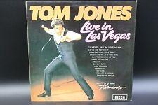Tom Jones - Live In Las Vegas (1969) (Vinyl) (Decca – SLK 16 630-P)