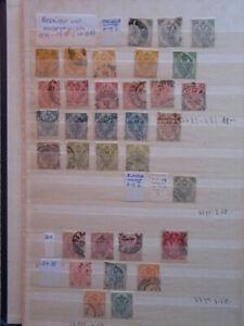 Briefmarken Österreich Bosnien und Herzegowina auf 11 Seiten