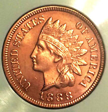 1888 1C Indian Head Cent - Nice color- should see