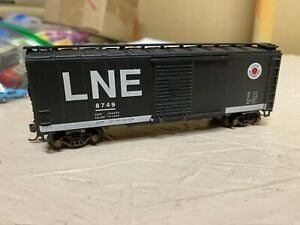 HO Scale Athearn Lehigh New England LNE 40' boxcar