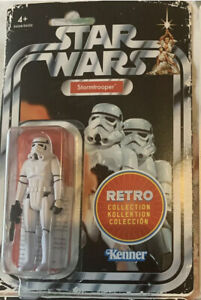 Star Wars Retro Collection STORMTROOPER wave 1 New And Sealed