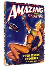 Amazing Stories, volume 23, #11, November 1949 Prometheus' Daughter