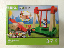 Brio World 33948 PLAYGROUND Brand New In Package Ages 3-7 4 pcs