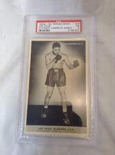 Boxing News Photos No. 19 Joe Louis Alabama U.S.A. with PSA COA