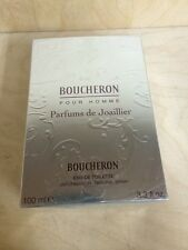 BOUCHERON LA COLLECTION DU JOAILLIER MEN 3.3 OZ EDT SPRAY NIB****COLLECTORS ***