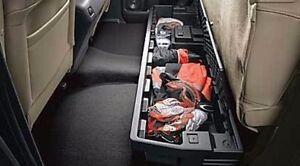 2007-2019 Toyota Tundra Double Cab Rear Under Seat Storage Tool Box PT871-34070