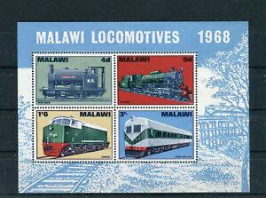 Malawi Block 11 postfrisch Locomotives - b7284