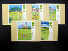 GB Wholesale 1994 Scottish Golf Course PHQ Cards (5) x 10 Complete Sets FP1936
