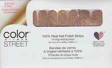 CS Nail Strips Mojave Gold Exclusive 100% Nail Polish - USA Made!