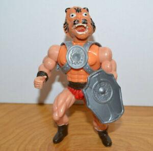"""Vintage GALAXY HEROES TIGER MAN MOTU KO Action Figure 6"""" Armor & Shield Fantasy"""
