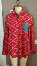 Fabulous Mens Multicolor Button Down Top By Koto!! Size Small!!