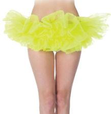 Morris Costumes Women's Tutu Neon Yellow One Size. UR29478