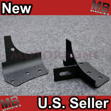 97-06 Jeep Wrangler TJ Unlimited Windshield Side Mount Fog Light Lamp Bracket