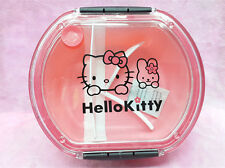 Hello Kitty Outside Bento Microwave Oven Lunch Box Pink For Girls Kids - Round