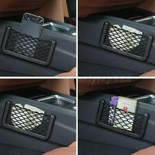 Universal Car Seat Side Back Net Storage Bag Phone Holder Pocket Organizer OT8G