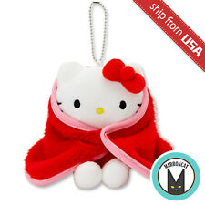 Japan Sanrio Puroland Exclusive Hello Kitty Winter Limited Blanket Mascot Plush