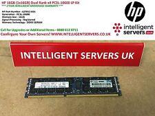 HP 16GB (1x16GB) Dual Rank x4 PC3L-10600 LP Kit 627812-B21